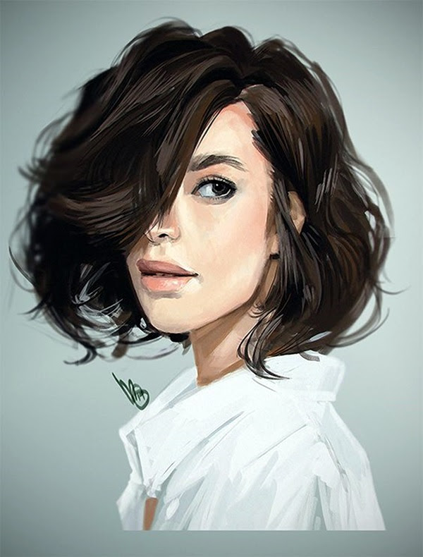 Spectacular Digital Painting Portraits (3)