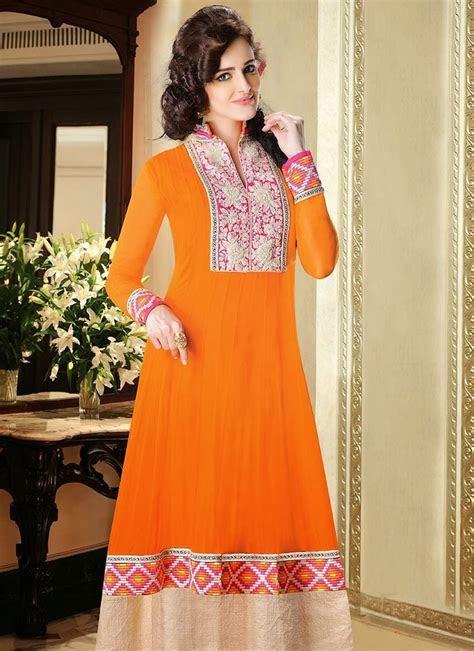 Indian Designers Churidar Suits Beautiful Dress 2013 14