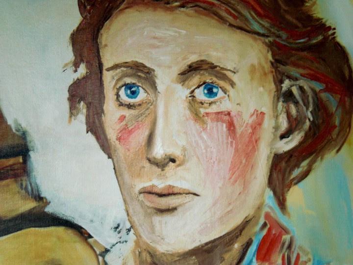 <p>Retrato contemporáneo de Virginia Woolf.</p>