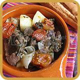 Tava (Baked Beef with Potatoes, Cumin & Tomatoes)