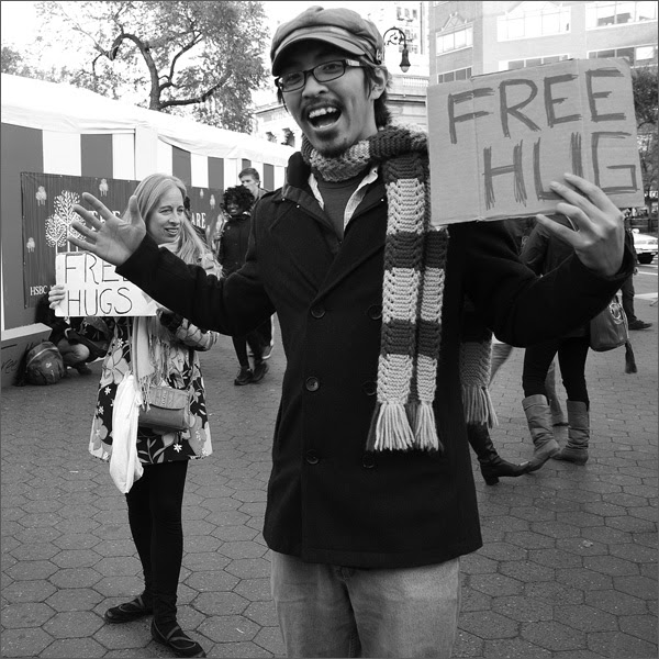 Free Hugs, Union Square