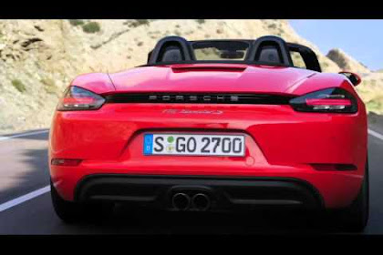 CAR: Porsche 718 is a Boxster with an Eco Engine, Automotifblog.com