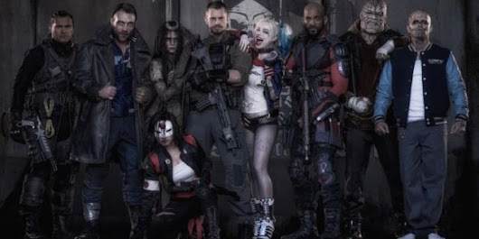 First Look At Entire Suicide Squad Cast