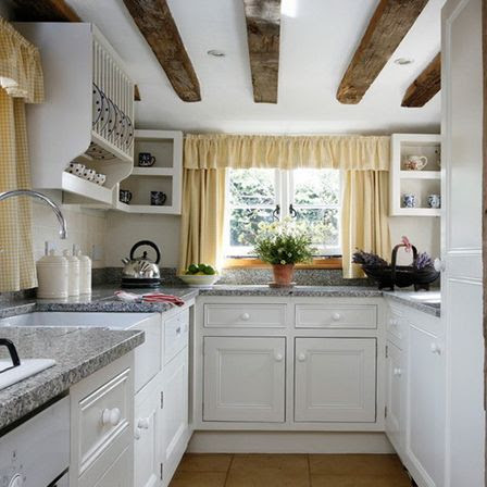 Small country kitchens: 5 news   Kitchens designs ideas