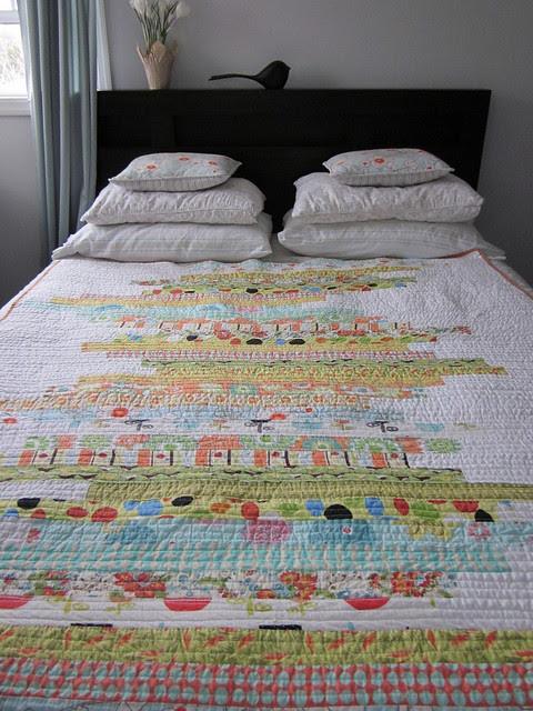 Line Art quilt