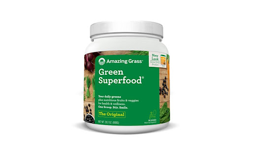 100 Servings Amazing Grass Green Superfood Original for $32.77 at Amazon