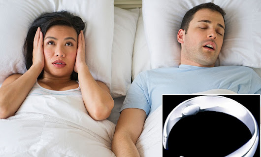 Can this RING stop your partner from snoring? Piece of metal scientifically proven to reduce volume of nighttime noise