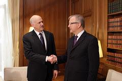 Συνάντηση με τον Επίτροπο της Ευρωπαϊκής Επιτρ...