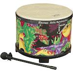 "Kids Percussion Floor Tom Drum Comfort Sound Technology, Rain Forest, 10"""
