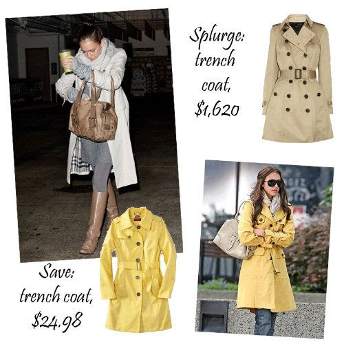 Jessica Alba Style - The Trench Coat