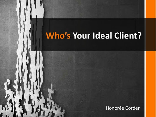 Who's Your Ideal Client?