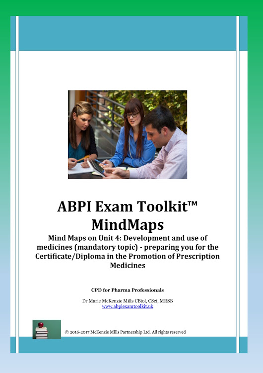 ABPI Exam MindMaps: Unit 4 (mandatory topics) - all four sections