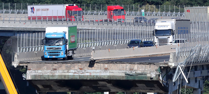 Γένοβα: Η αστυνομία αναθεώρησε σε 38 τον αριθμό των νεκρών- Συνεχίζονται οι έρευνες για επιζώντες