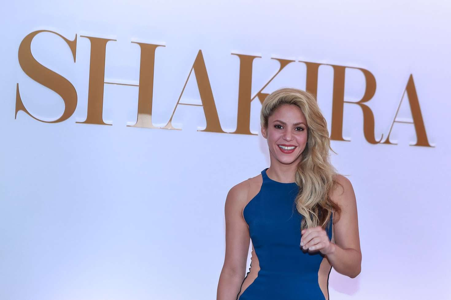 Shakira At Her New Fragrance Line Dance In Sao Paulo  Indian Girls Villa -9370