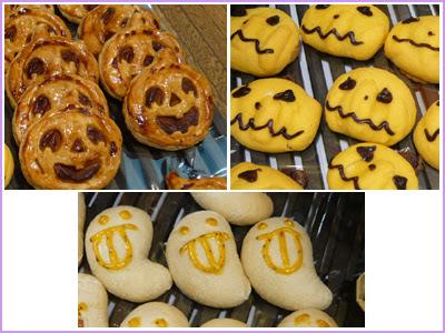 2012ハロウウィン,ハロウィンのパン,かぼちゃパン,おばけのパン,ドンク,松菱,デパート