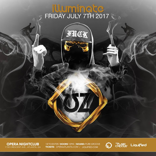 Discount Pre-Sale Tickets for UZ at Opera Atlanta - July 7th, 2017 - Use Promocode SINNER