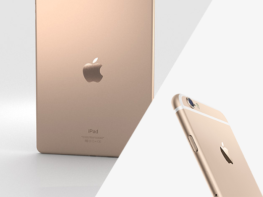 Live The Good Life With A Brand New Gold iPad Air 2 + A Gold iPhone 6