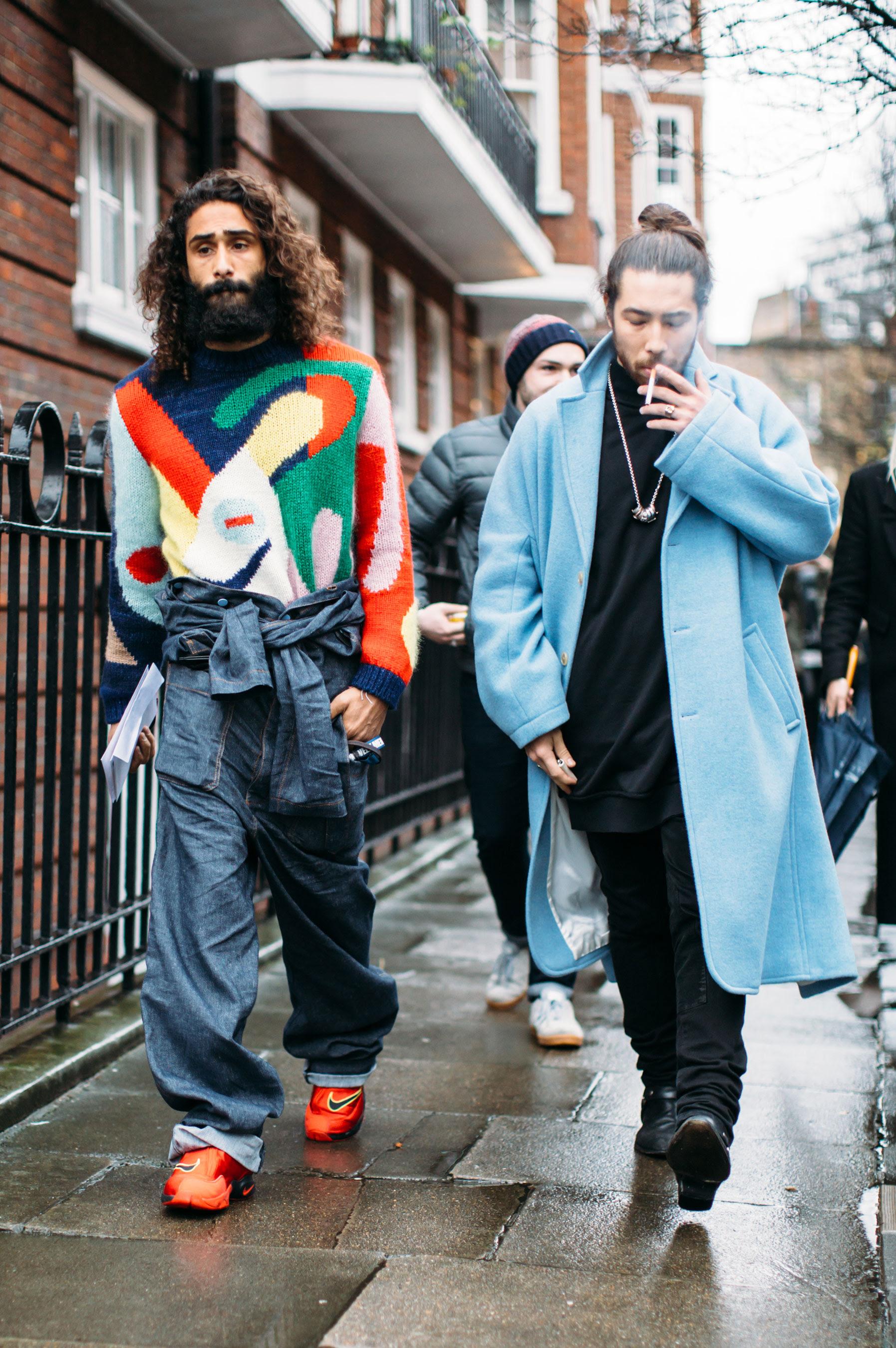 Street Style at London Men's Fashion Week Fall Winter 2017 ...