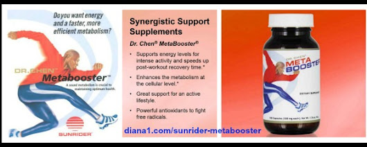 Sunrider MetaBooster repairs DNA Anti-Aging Energy Stress