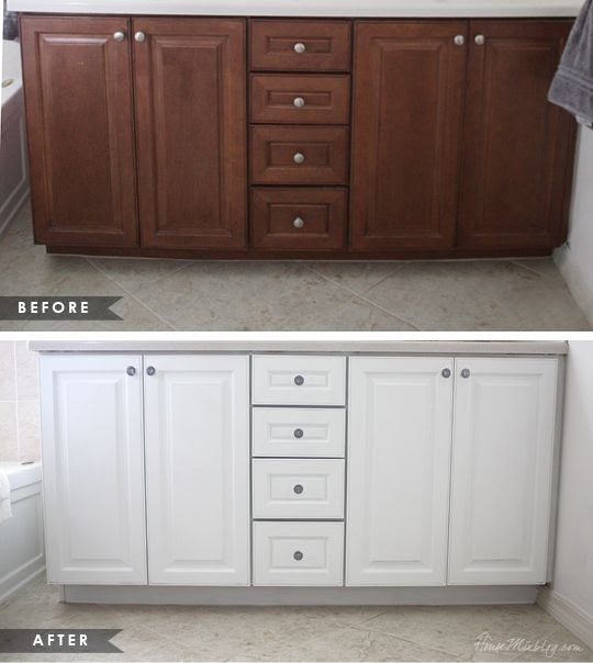 Bathroom Cabinet Hardware: How To Paint Bathroom Cabinets
