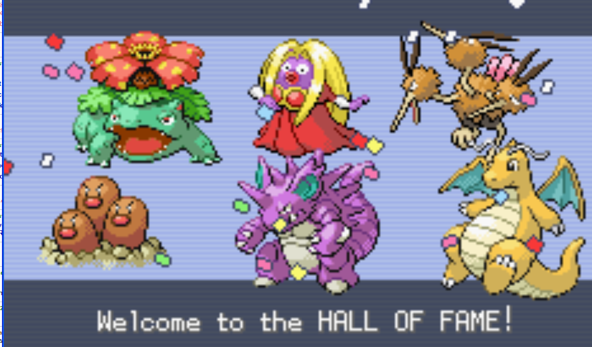 Pokemon Fire Red Elite Four Team