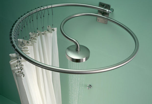 You Can't Miss These Designer Shower Heads