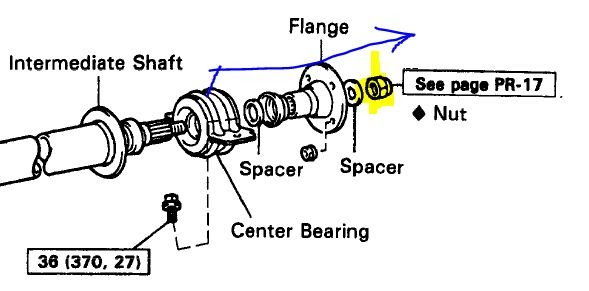 schematics and diagrams: How to replace Drive Shaft