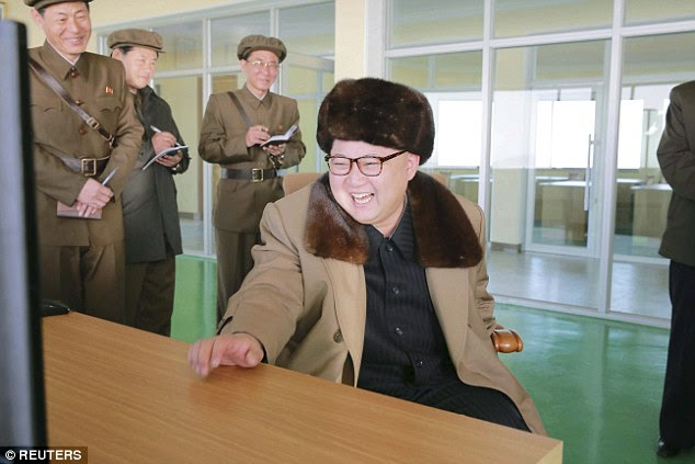 UN Security Council scheduled emergency meeting for Wednesday after a request by US and Japan to discuss additional measures following the launch. Under UN resolutions, North Korea is barred from any use of ballistic missile technology. Pictured: NK leader Kim Jong-Un