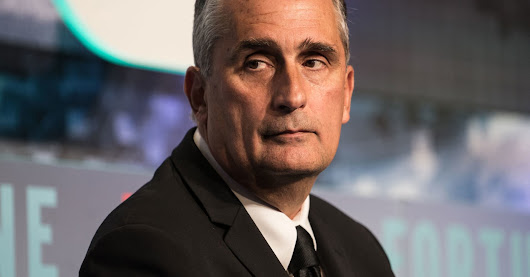 Intel CEO Brian Krzanich forced out after 'relationship' with employee