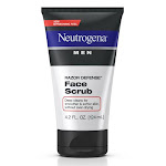 Neutrogena Men Razor Defense, Daily Face Scrub - 4.2 Oz