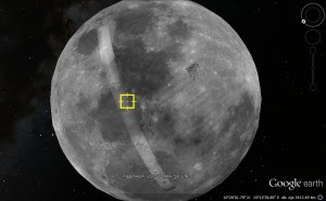 Google Earth Moon.