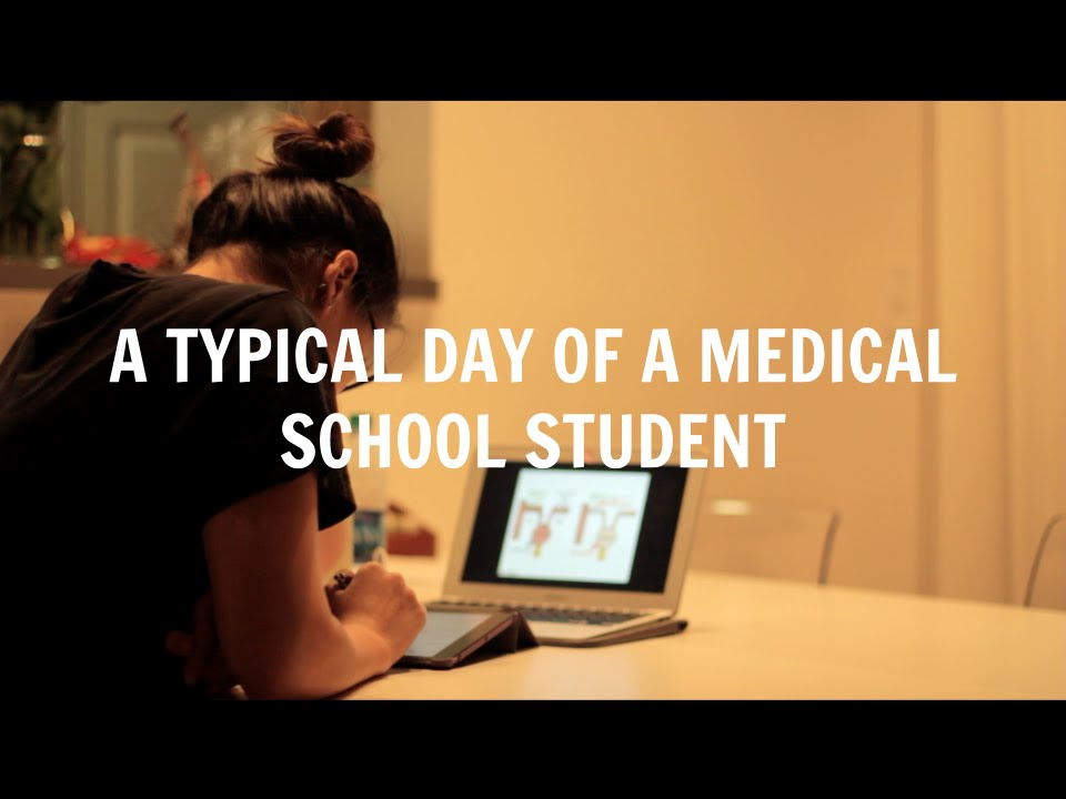 A Typical Day of a Medical School Student   Med School Student Day ...