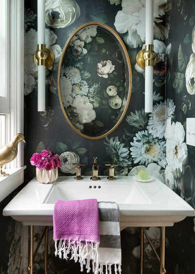 How to Get Past Your Fear of Bold Wallpaper Prints