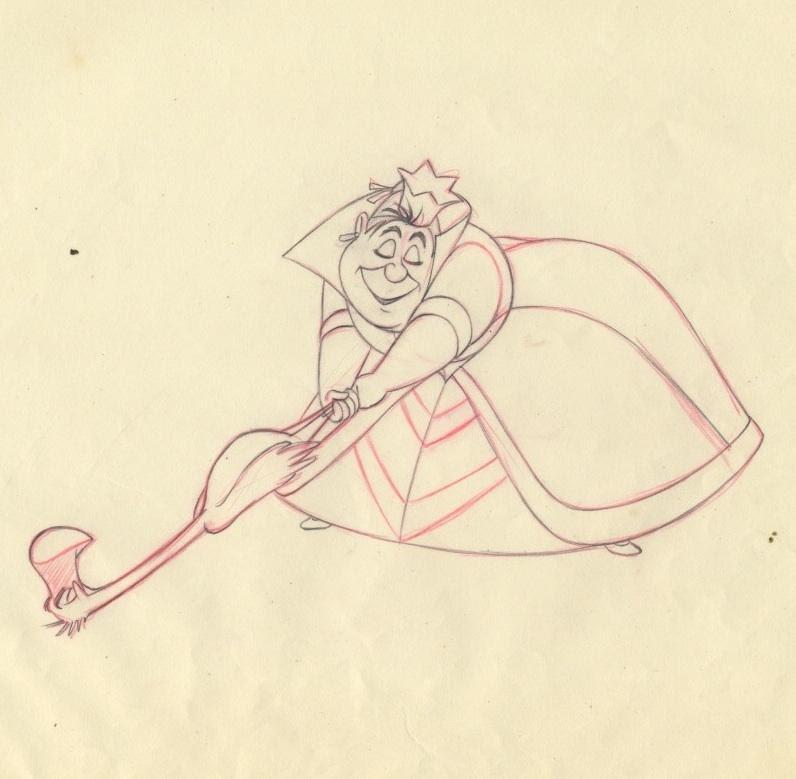 Auctionhowardlowerycom Disney Alice In Wonderland Frank Thomas