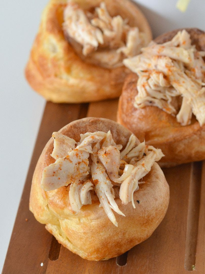 Maple & Cajun Spiced Chicken Filled Yorkshire Puddings