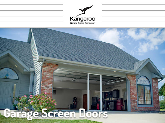 Garage Screen Doors - Kangaroo Garage Doors