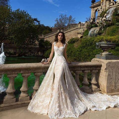vestido de noiva 2017 ball gown Champagne lace Country