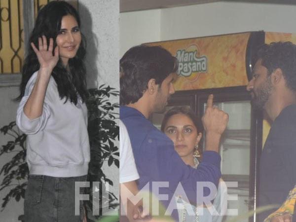 Katrina Kaif Sidharth Malhotra Kiara catch up for Vicky Kaushalâs Sardar Udham Singh