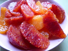 blood orange suprêmes