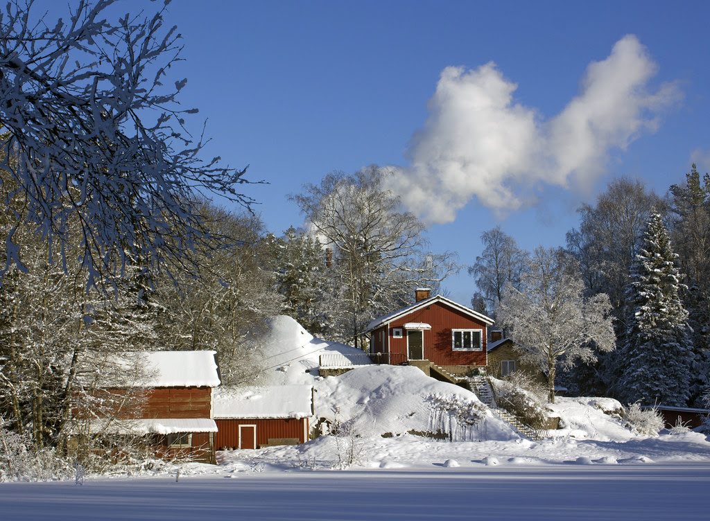 Winter in Sweden