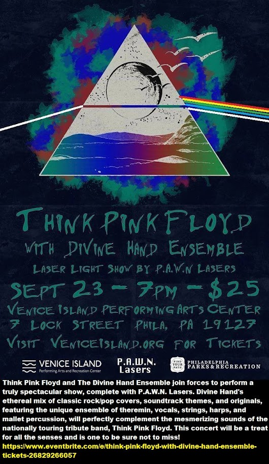 SEPT 23 PHILLY WITH FULL ORCHESTRAtickets - from @thinkpinkfloyd on Ello.