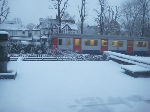 Snowy Tube 13th Jan