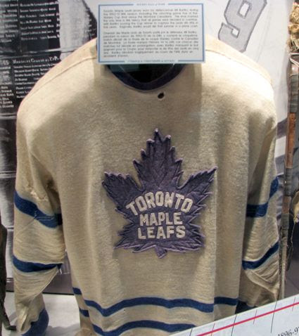 Bill Barilko's Maple Leafs jersey