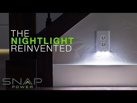 "Tired of Hearing, ""Turn on the Nightlight""? Snap-Power is For You!"