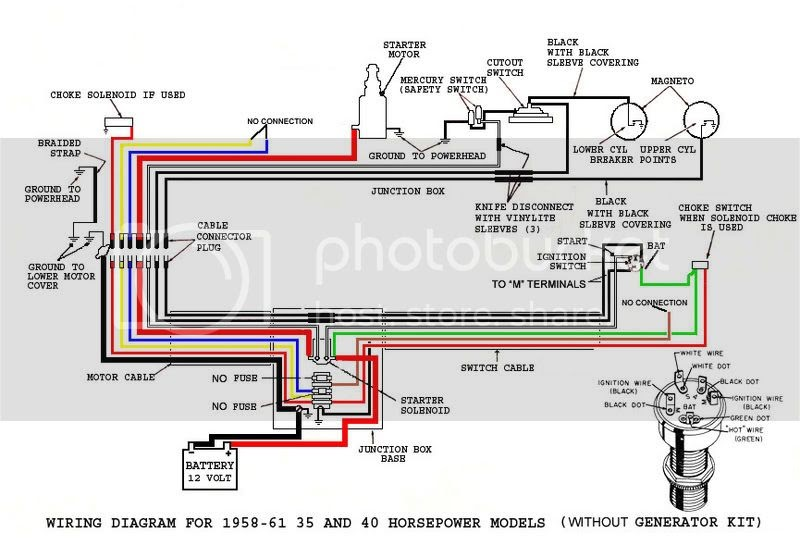 35 40 Hp Mercury Outboard Wiring Diagram