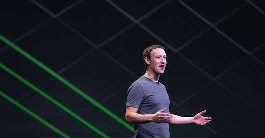 Mark Zuckerberg: 'We want to get a billion people in virtual reality'