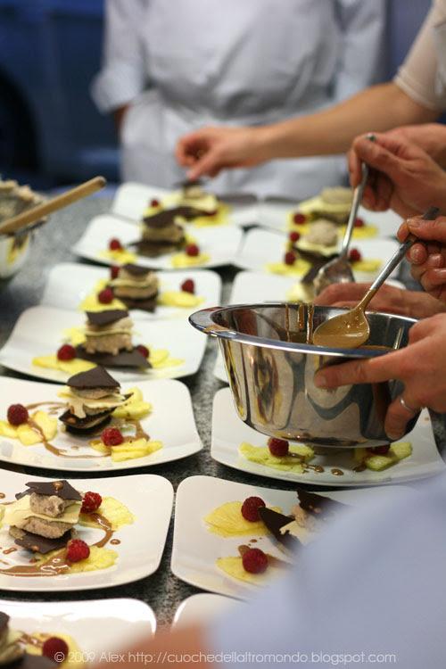 Preparazione dessert
