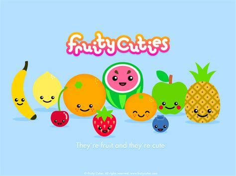 Cute Fruit Wallpaper   WallpaperSafari