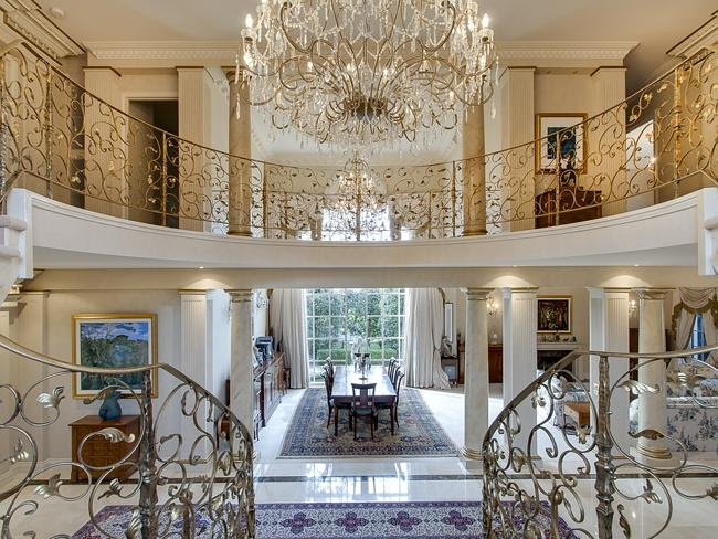 In your dreams: you may one day be swinging from the Venetian glass chandeliers of this $