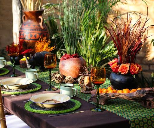 African Wedding Decorations: Traditional African Wedding Decor. Zulu